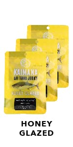 Honey Glazed Ahi Tuna Jerky 3 Pack Bundle