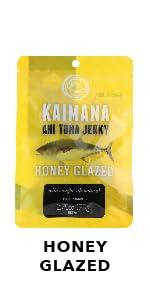Honey Glazed Ahi Tuna Jerky