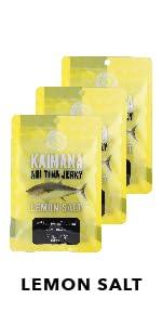 Lemon Salt Ahi Tuna Jerky 3 Pack Bundle