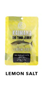 Lemon Salt Ahi Tuna Jerky
