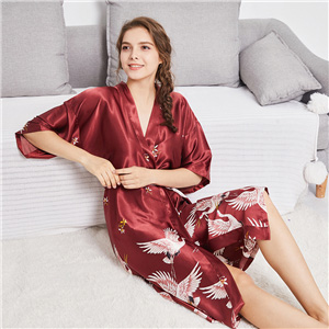women robes satin