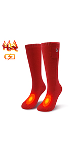 heated insoles heated socks rechargeable heating socks