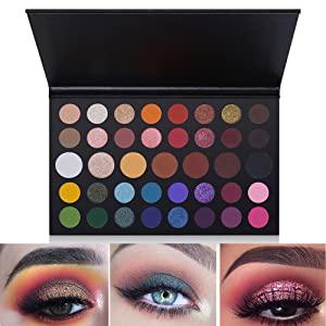 39 color eye makeup