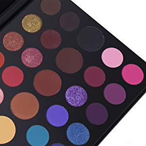 39 color shimmer eyeshadow