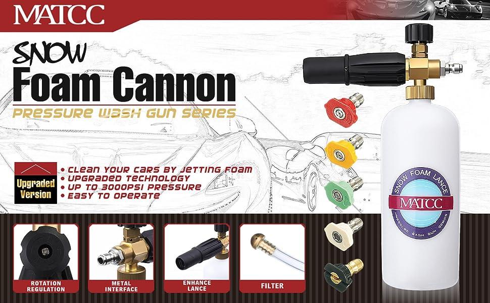 1 Pack Durable Stainless Snow Foam Lance Filter for Foam Generator Foam Gun