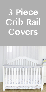 crib rail cover guards standard
