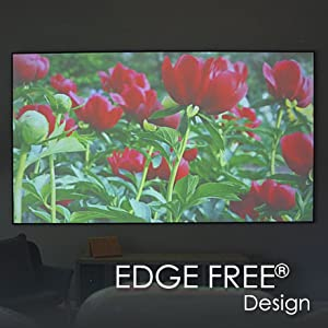 Fixed Frame Projector Screen 16:9 Projector Screen movie screen 125 inch Projection Screen