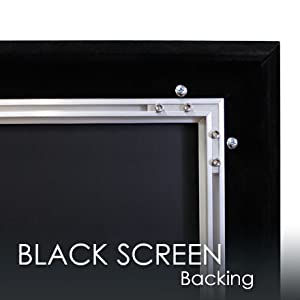 125 inch Fixed Frame Projector Screen 16:9 Projector Screen Movie Theater Home Theater akia screens