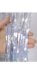 Silver Foil curtains