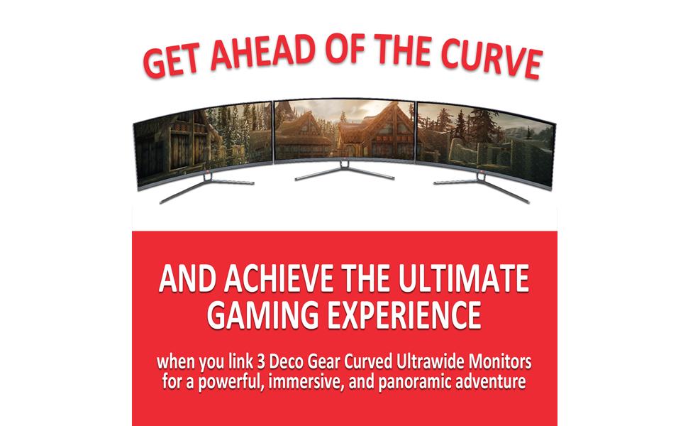 gaming monitor 3 pack
