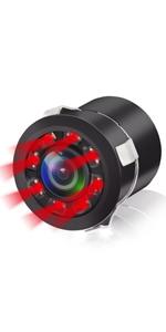 LED IR car rear view camera