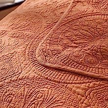 pure cotton quilt reversible coverlet