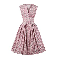 elegant dress 40s dress summer dress ladies work dress pin up dress work woman dress