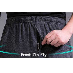 Front zip fly