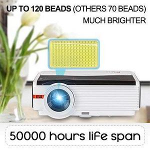 hd video projector wifi wireless 4200 lumens