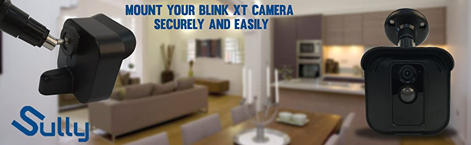 Blink XT security camera hard case wall mount ceiling waterproof charging cable perfect angle black