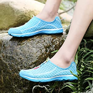 Light Blue water shoes