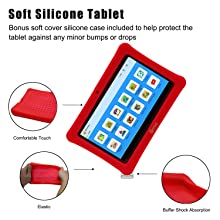 tablet with silicon protection case,silicon protection tablet