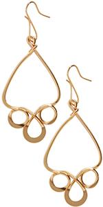 Dangle Earrings for Women - Long Geometric Dangling Hook Hanging Drops