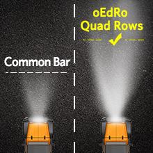 Quad Row Led Light Bar
