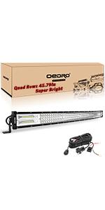 42 Inches 936W Quad Row Led Light Bar