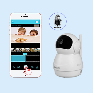 Two-Way Audio and Motion Detection