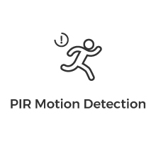 thermal motion detection