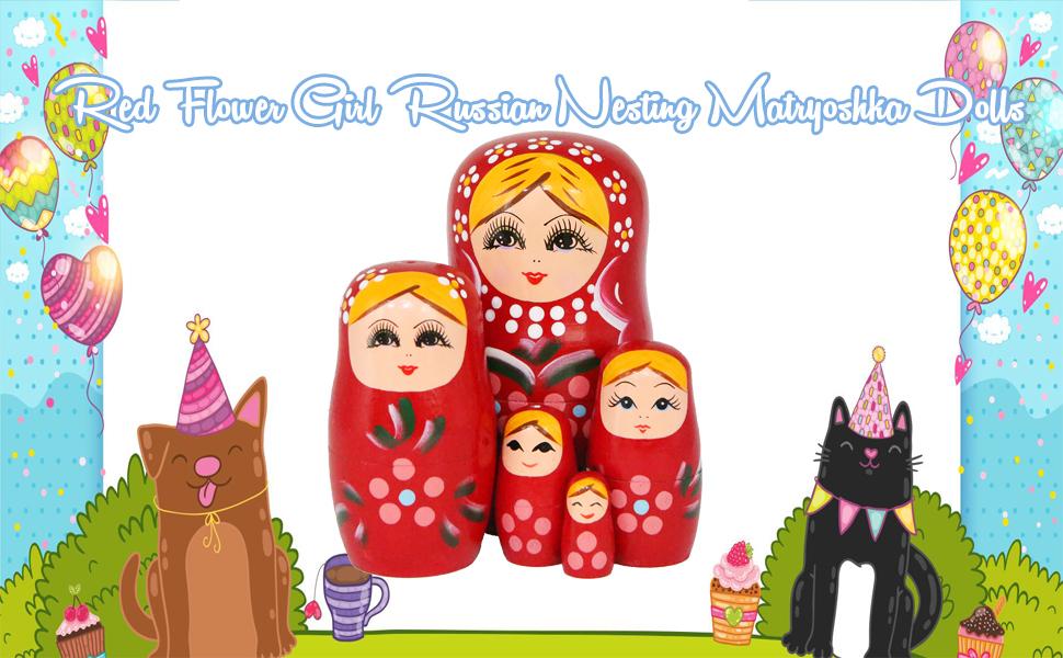 Nesting Matryoshka Dolls