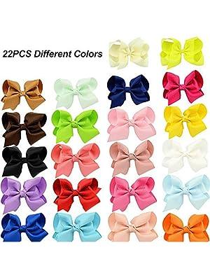 22 pcs hair ribbon