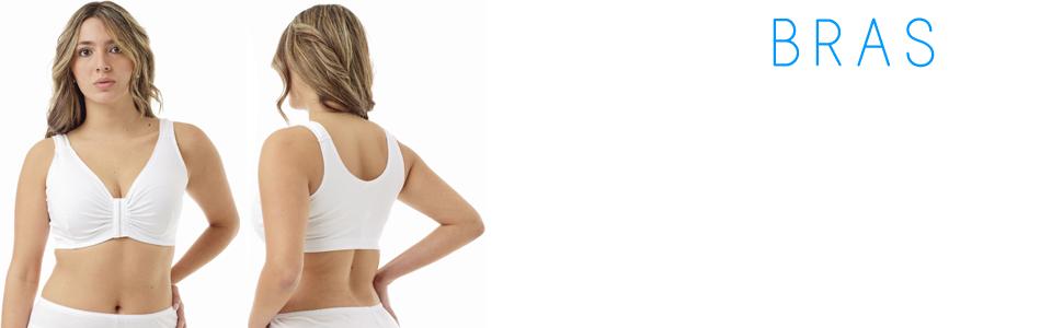 Underwroks Sleep and Leisure Bra, lounging bra,wide straps, medical, joga, sport,3110