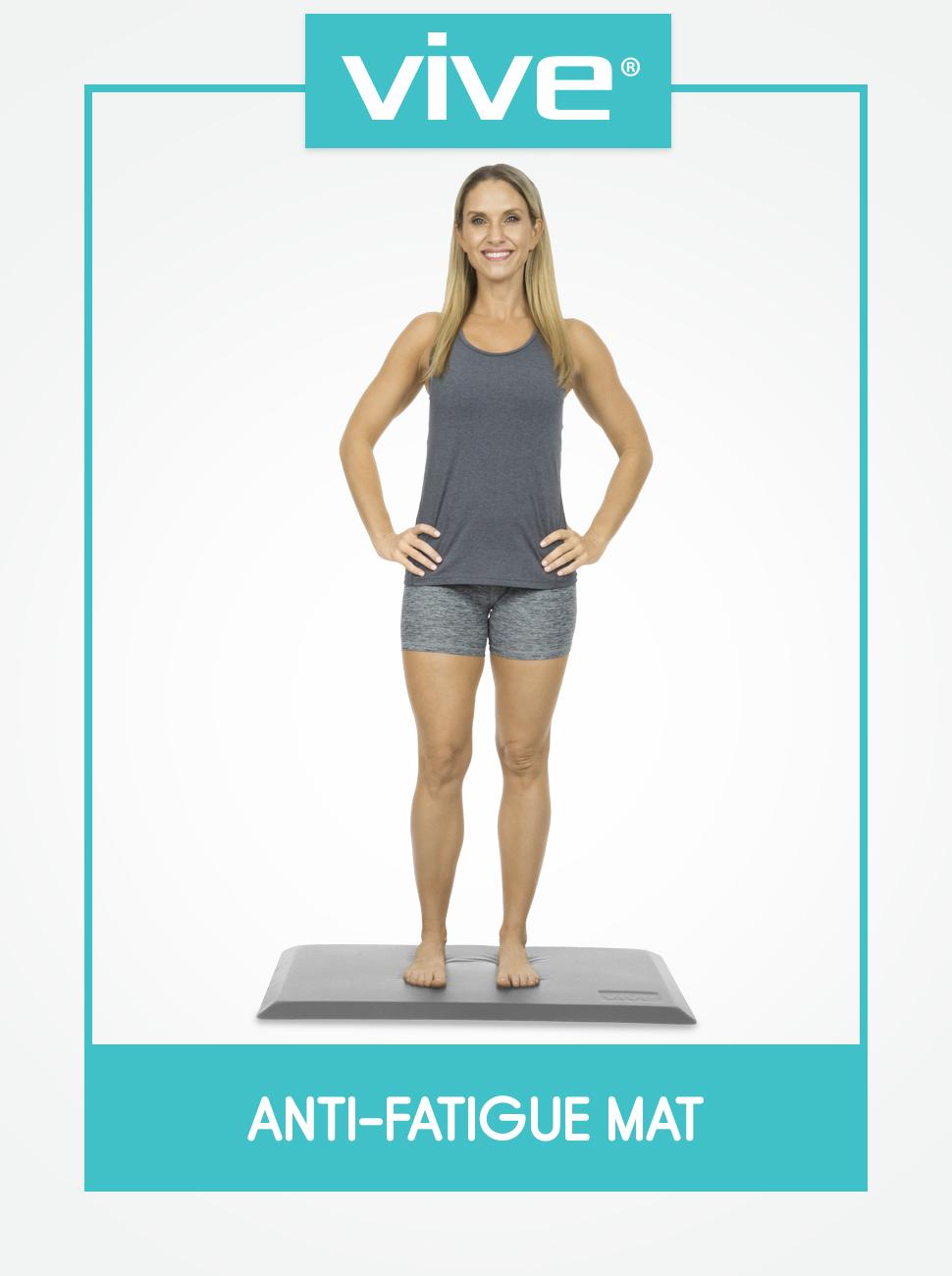 anti fatigue mat standing desk pad