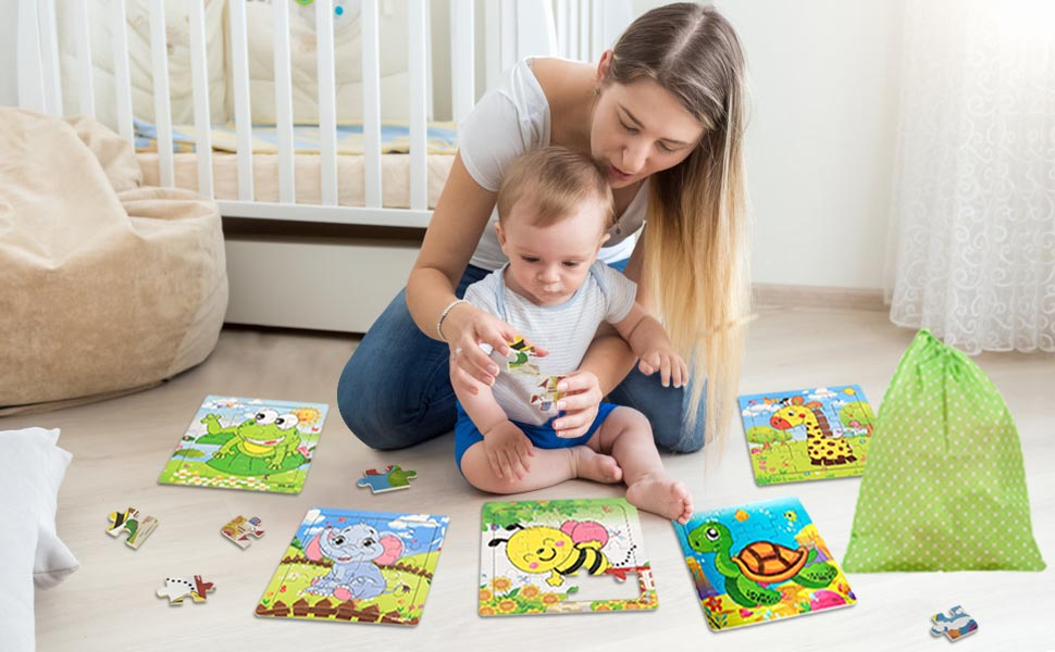 sealive top bright 16 piece puzzles for kids floor puzzles for kids 16 pieces best children's puzzle