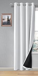 100 % blackout curtains