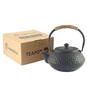cast iron teapot package