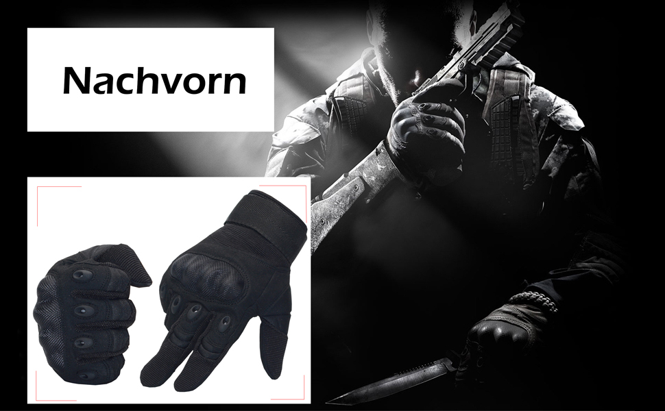 Nachvorn Tactical Gloves might be a good choice