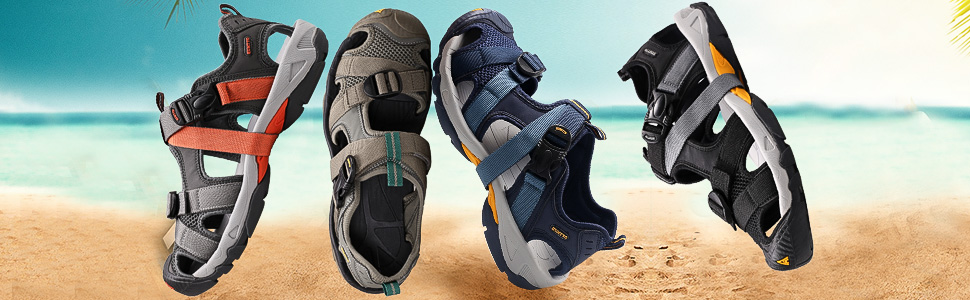 Hiking water sandals