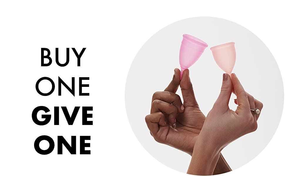 buy one give one pixie menstrual cup
