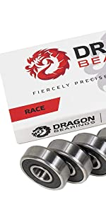 Dragon RACE bearings