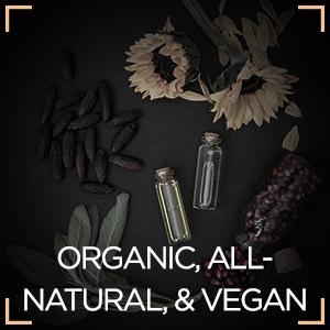 Organic, All-Natural, & Vegan