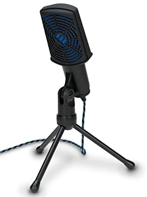 CM1 microphone standing on tripod