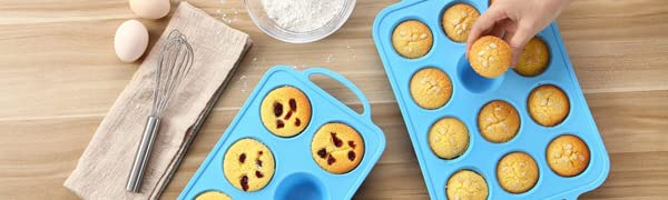 Silicone Muffin and Cake Molds