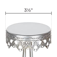 """Each stand features a 3.5"""" diameter surface plate top"""