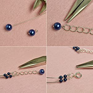 Glass Pearl Beads Bracelet