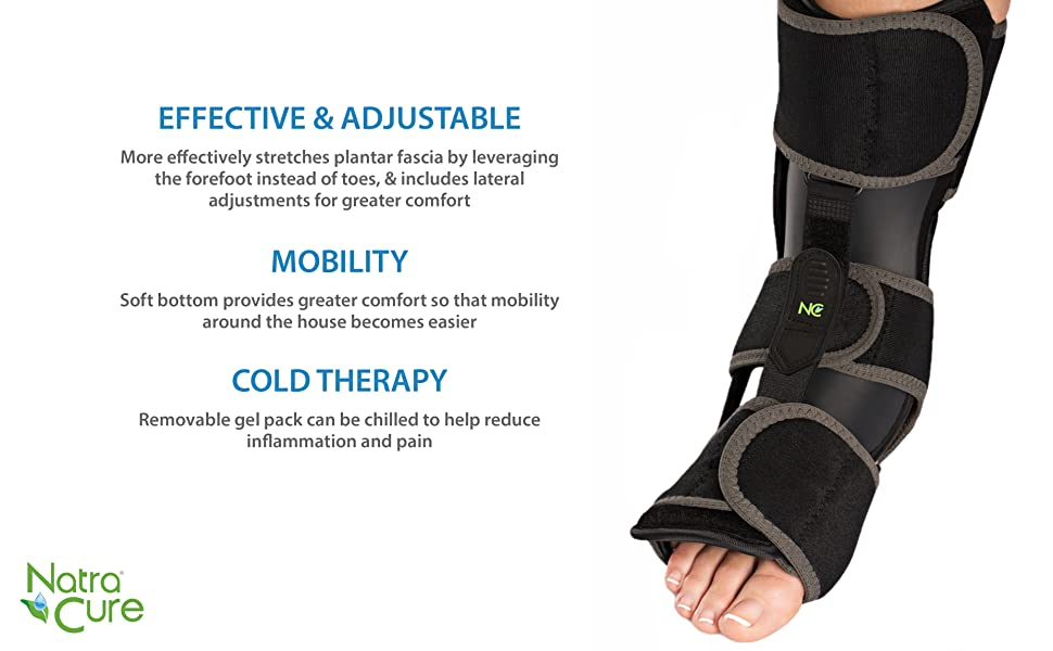 NatraCure Plantar Fasciitis Night Splint