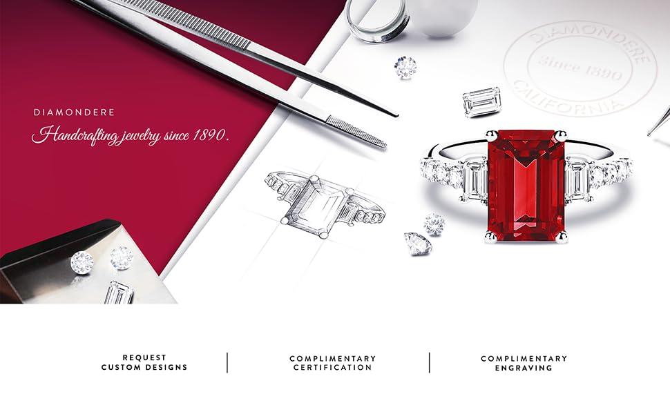 DIAMONDERE custom jewelry