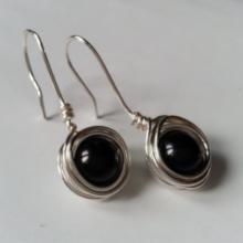 earrings silver dangle