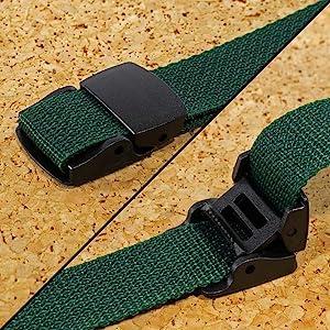 in use velcro strap buckle