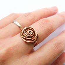 rose ring copper wire
