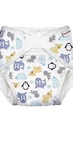 All in one diaper