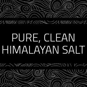pure clean himalayan salt